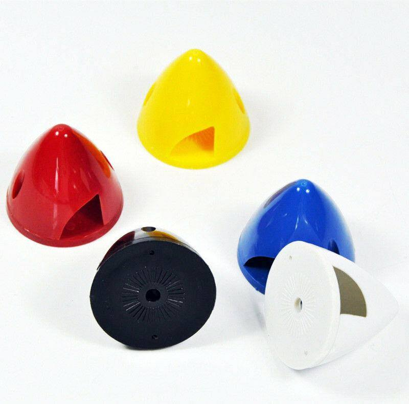 1.5inch/38mm Plastic Spinner  For RC Airplane 2 Blades Propeller 5 Colors