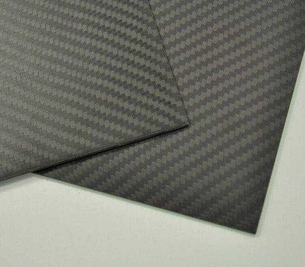 150mmx500mmx2mm  Carbon Fiber Plate/Panel/Sheet Matte Surface 2mm Thick