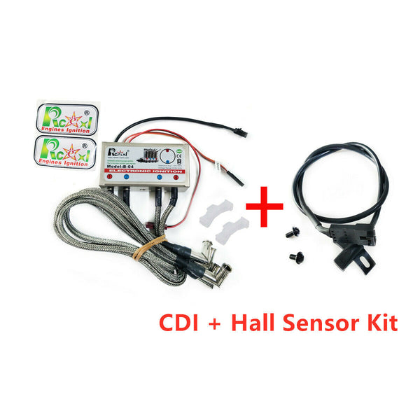 4 Cylinder Inline Engine Ignition CDI for ME8 1/4 -32 90 Degree w/ Sensor