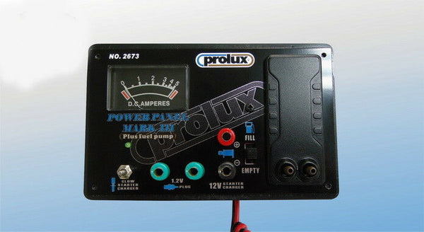 Prolux Power Panel Mark Super Regulator with Glow Starter Charger and Fuel Pump