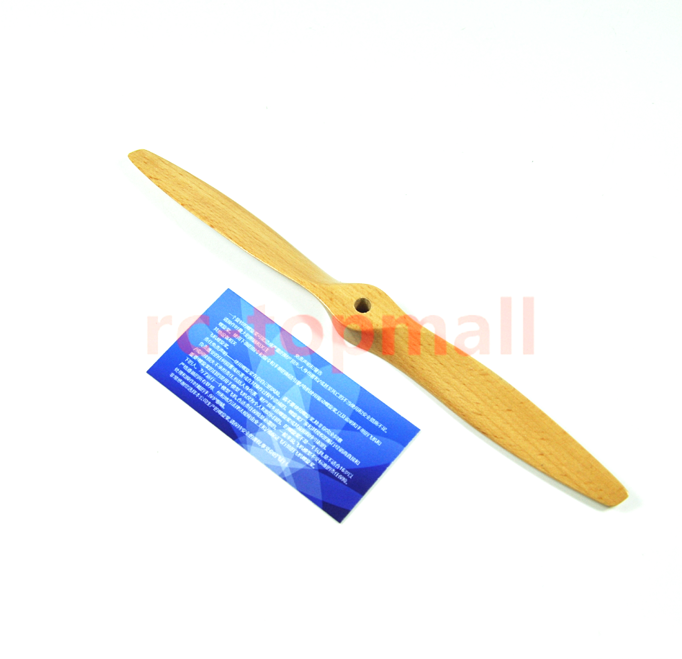 9x5inch 9inch Beech wooden Propeller for Gas Power Plane