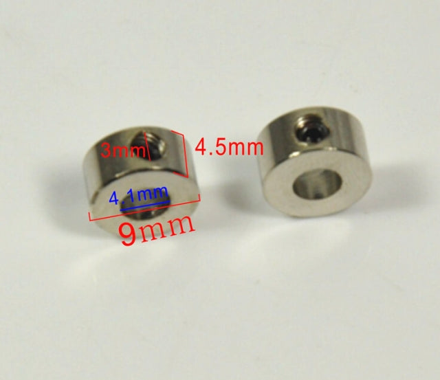 Steel Wheel Adapters For Radio Control RC Airplane Dia 4.1 x H9 MM