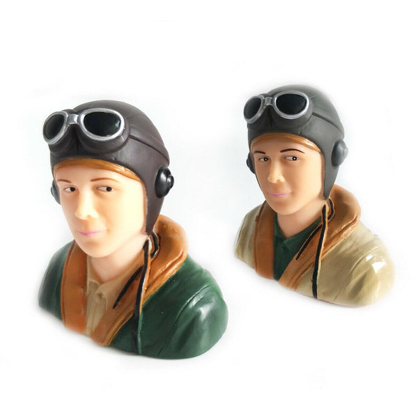 WWII Pilots Figure L67*W40*H66mm 1/6 Scale
