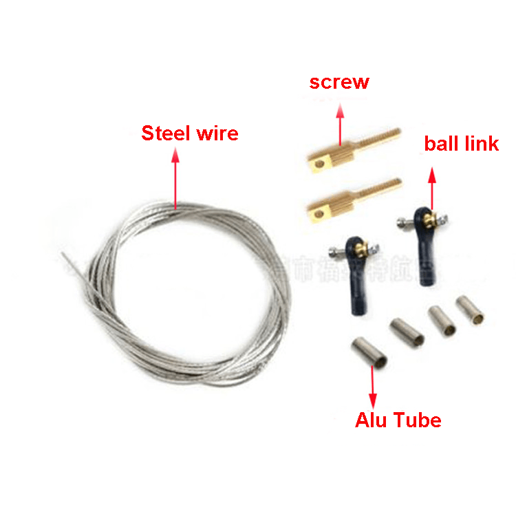 Ball link Soft Steel wire Steering gear Connecting rod kit