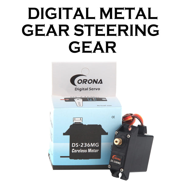 Corona DS236MG Digital Metal Gear Servo for Fixed Wing / Helicopter