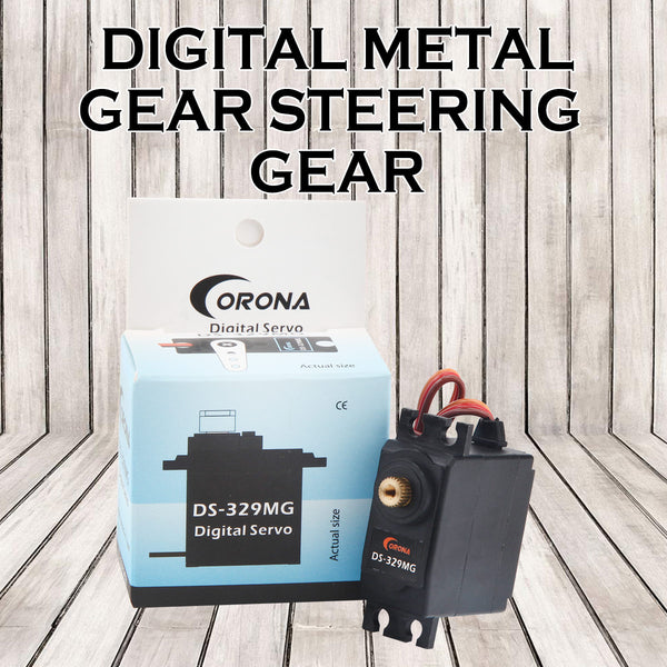 Corona DS329MG 4.5kg 0.11sec 32g Digital Metal Gear Mini Servo for Hobby Robotics Education Industrial
