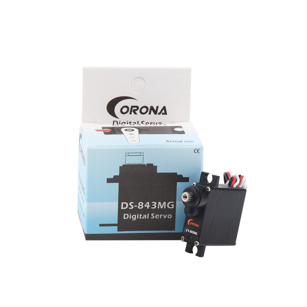 Corona DS843MG/ DS-843MG Digital High Torque Micro Servo 4.8kg / 0.10sec / 8.5g