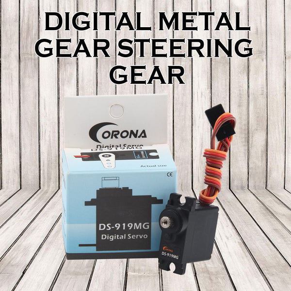 CORONA DS919MG 9g Digital Metal Gear 1.7kg/0.06sec/12.5g Servo for Rc Boat and Rc Car
