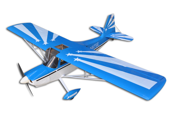 "Decathlon 72""/1828.8mm Balsa wood RC Fix Wing Nitro & Electric Airplane"