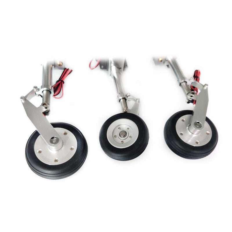CYS-R2290 Full Metal Retract Landing Gear w/wheel and Brake for Takeoff <15kg