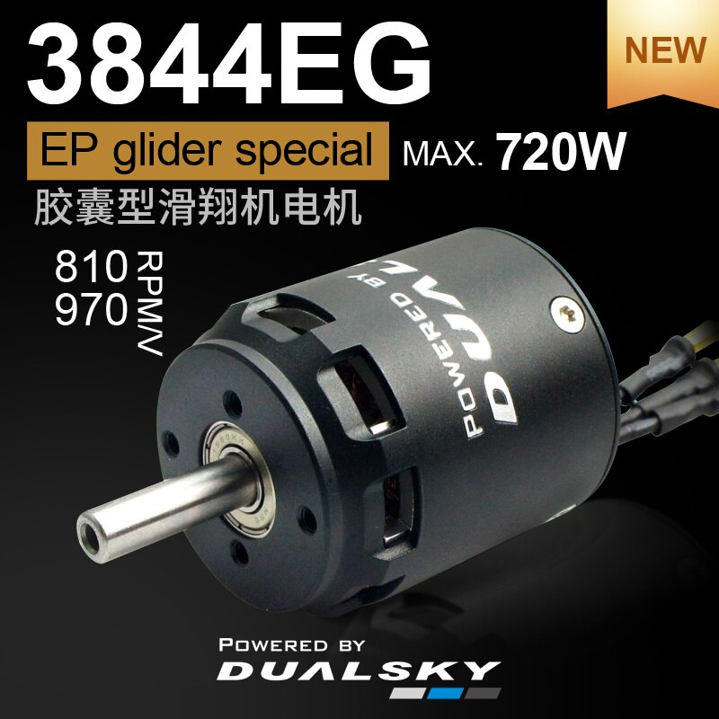 DUALSKY Brushless Outrunner Motors XM3844EG XM3850EG 970KV 810KV 920KV 740KV For EP Gliders