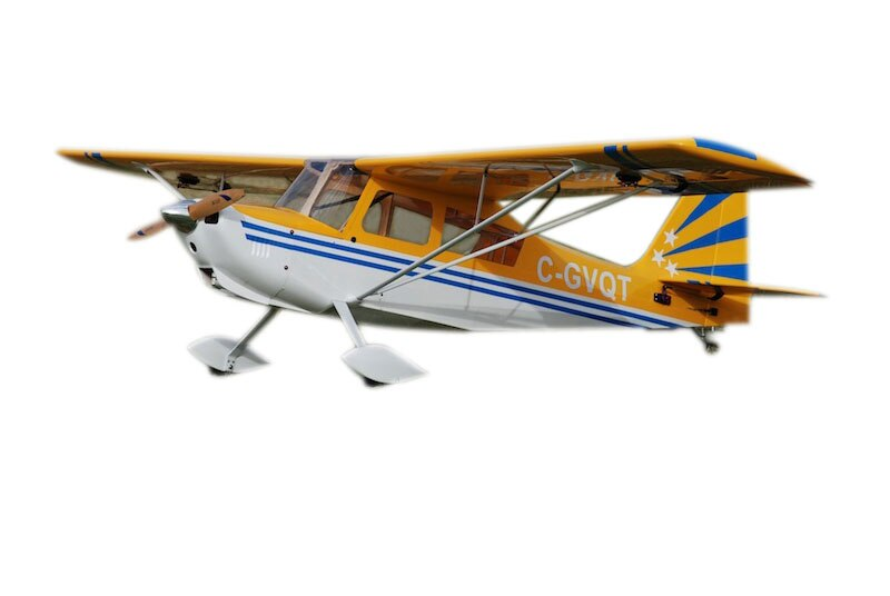 Super Decathlon v3 30-35cc 96inch/2438mm Gasoline Gas Plane Balsa Wood Wooden Fixed Wing RC Airplane