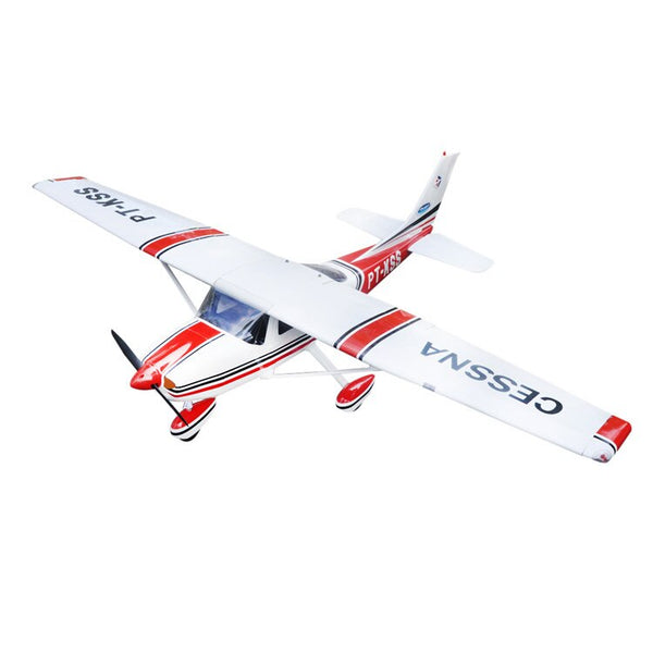 RC airplane Cessna 182 Red Balsa wood plane Aircraft ARF