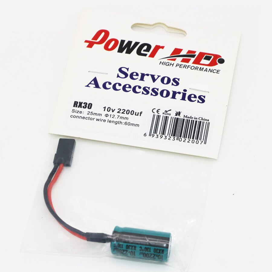 Power HD RX30 Electric Capacity 2200uF 10V