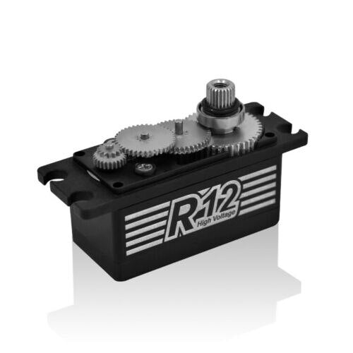 Power HD R12 Digital Servo 41x20x26.4 mm High Voltage 6.0-8.4V For 1/10 RC Car Model
