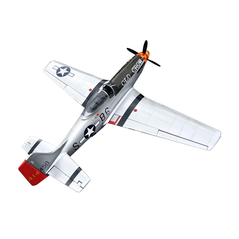 P51 68'' Old Crow RC Fixed Wing Airplane 20CC Balsa Wood