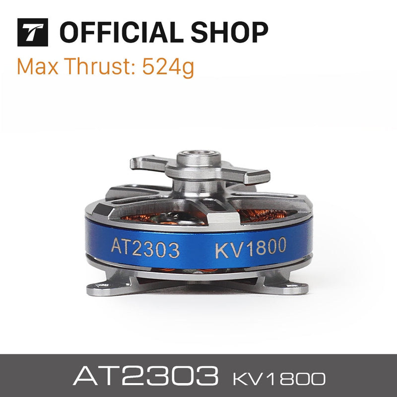 T-MOTOR Short Shaft AT2303 KV1500/1800/2300 BRUSHLESS MOTOR for F3P racing fixed wing rc drone