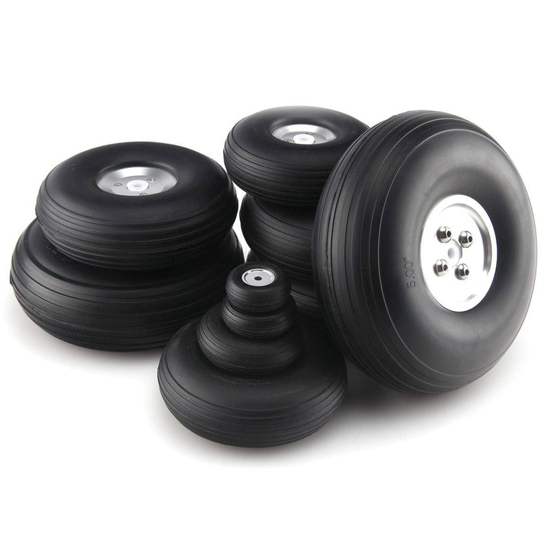 1 pair 1~8.5inchPU wheel with Dia-Casting Aluminum Hub
