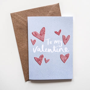 SALE To My Valentine Card - Victoria Rose Ball