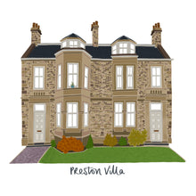 Load image into Gallery viewer, Bespoke House Portrait - Victoria Rose Ball