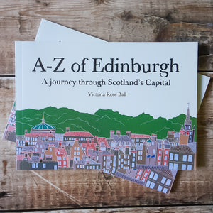 A-Z of Edinburgh Illustrated Book - Victoria Rose Ball