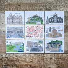Load image into Gallery viewer, All 3 Edinburgh Postcard Sets - Victoria Rose Ball