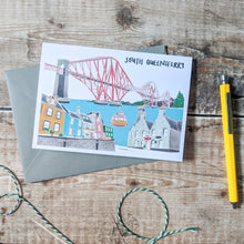 Load image into Gallery viewer, South Queensferry Card - Victoria Rose Ball