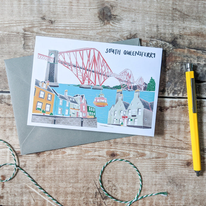 South Queensferry Card - Victoria Rose Ball