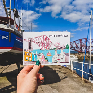 South Queensferry Postcard - Victoria Rose Ball