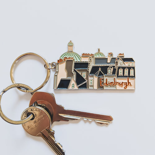 Edinburgh Keyring *charity product* - Victoria Rose Ball