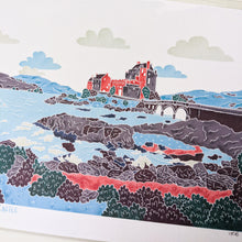 Load image into Gallery viewer, SALE Eilean Donan Castle A5 print - Victoria Rose Ball