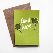 Load image into Gallery viewer, Good Luck Card - Victoria Rose Ball
