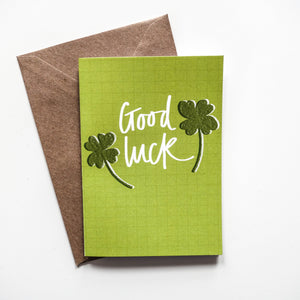 Good Luck Card - Victoria Rose Ball