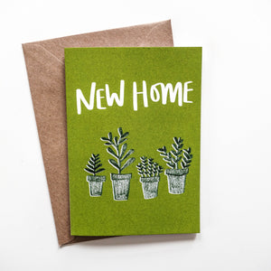 New Home Plants Card - Victoria Rose Ball