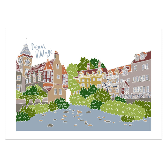 Dean Village Edinburgh Print - Victoria Rose Ball