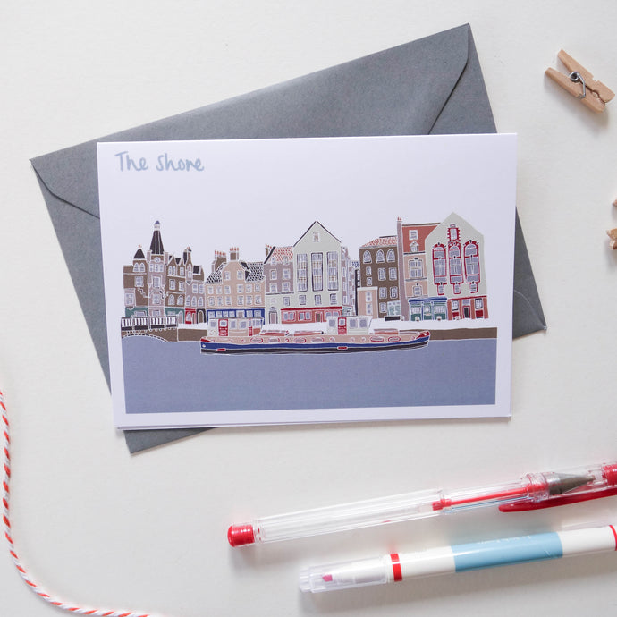 The Shore Leith Card - Victoria Rose Ball