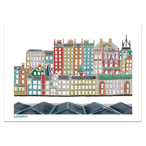 Colourful Edinburgh Print - Victoria Rose Ball