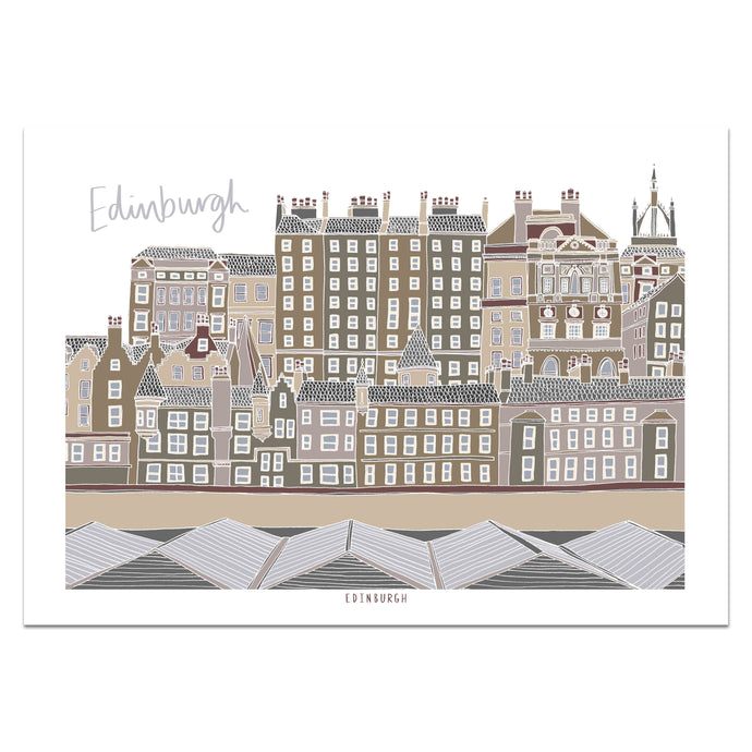 Edinburgh Print - Victoria Rose Ball