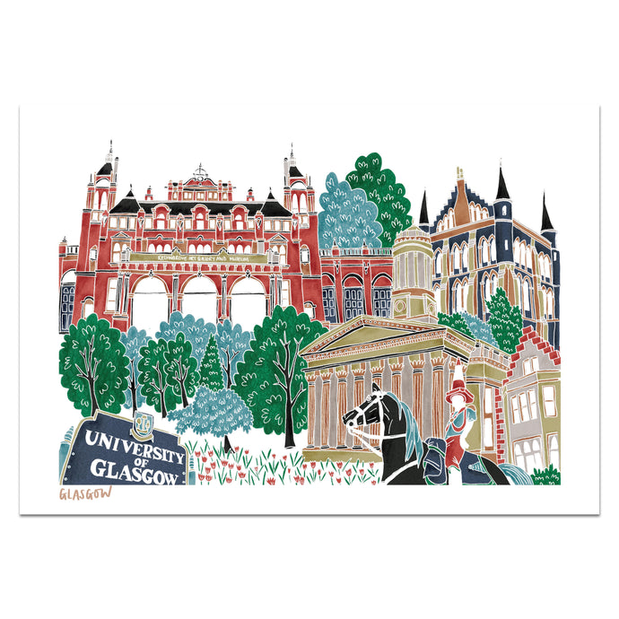 Glasgow Print - Victoria Rose Ball