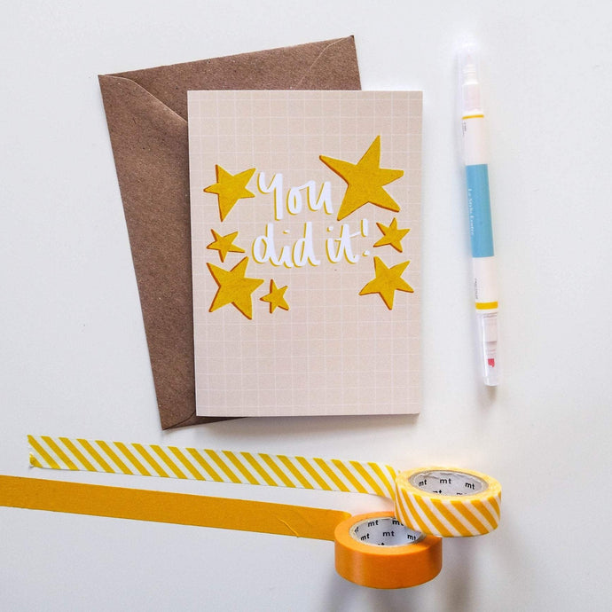 You Did It Card - Victoria Rose Ball