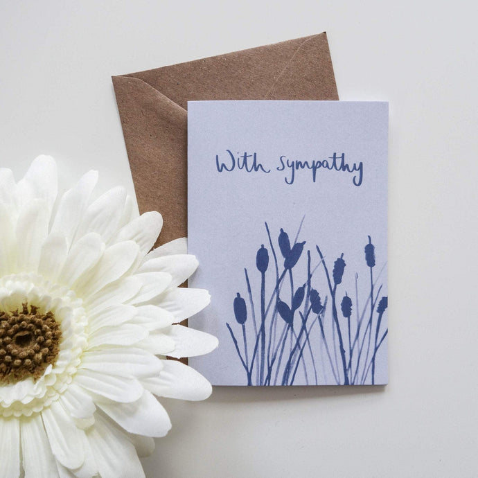 Sympathy Card - Victoria Rose Ball
