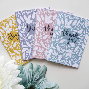 Thank-You Pack of Cards - Victoria Rose Ball