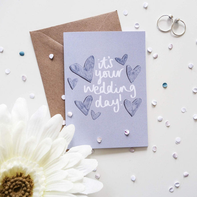 It's Your Wedding Day Card - Victoria Rose Ball