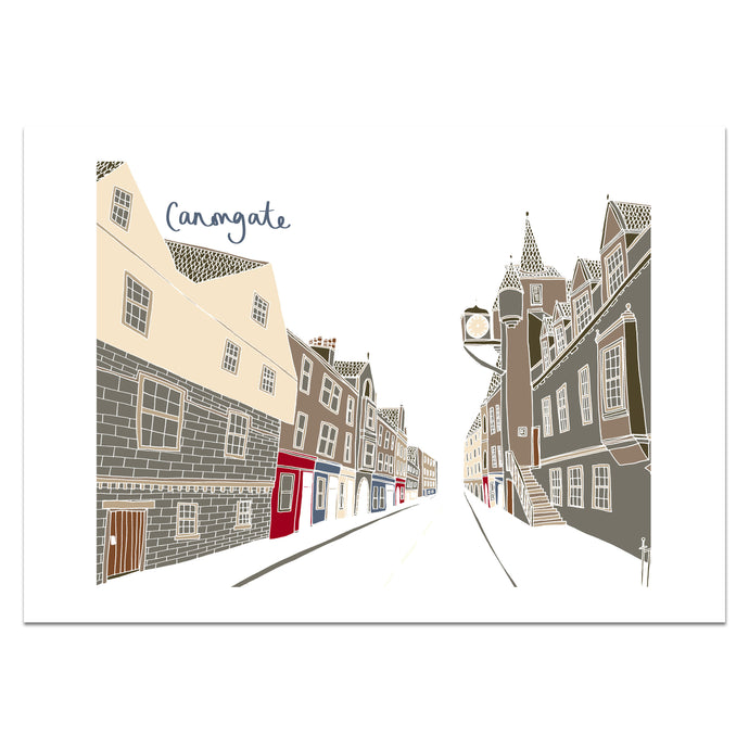 Canongate Edinburgh Print - Victoria Rose Ball