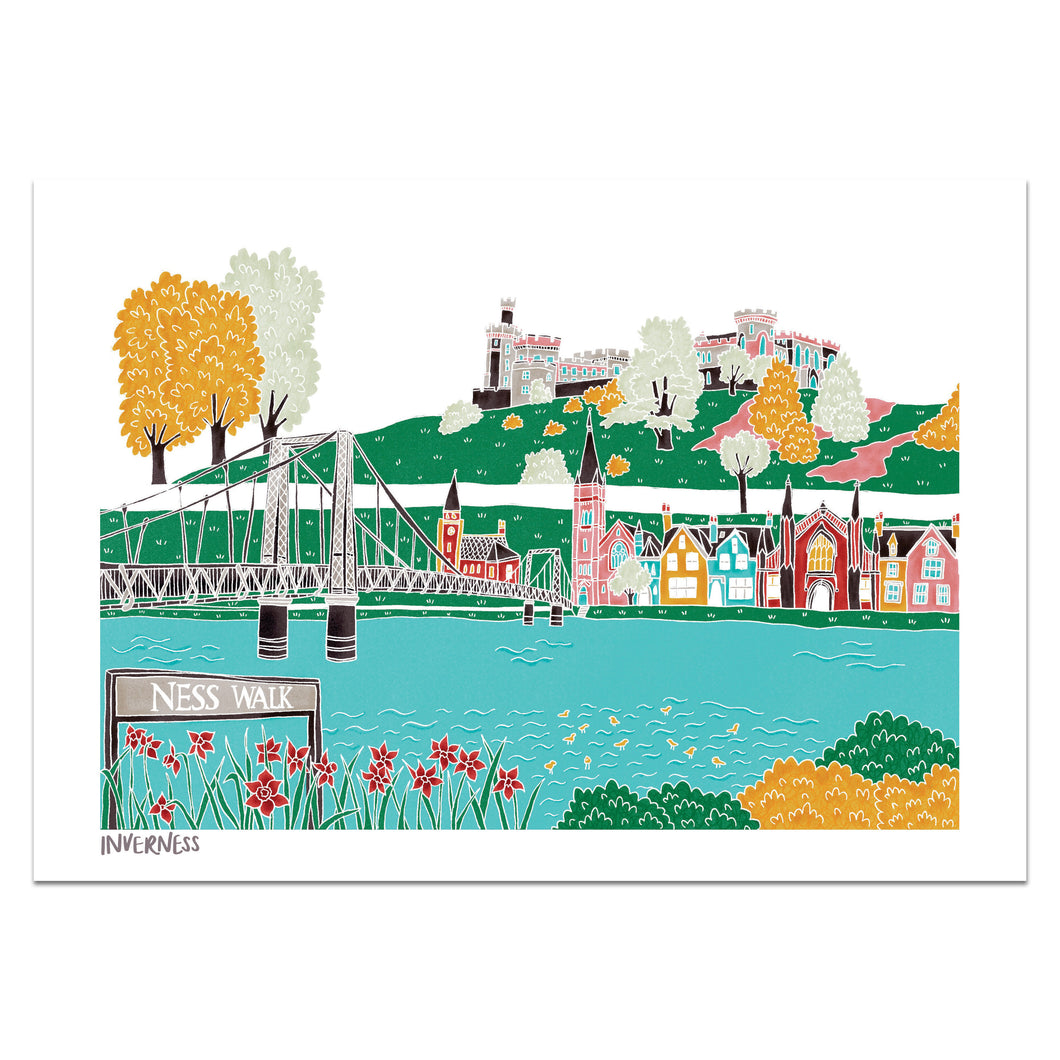 Inverness Print - Victoria Rose Ball