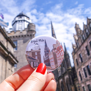 Royal Mile Magnet - Victoria Rose Ball