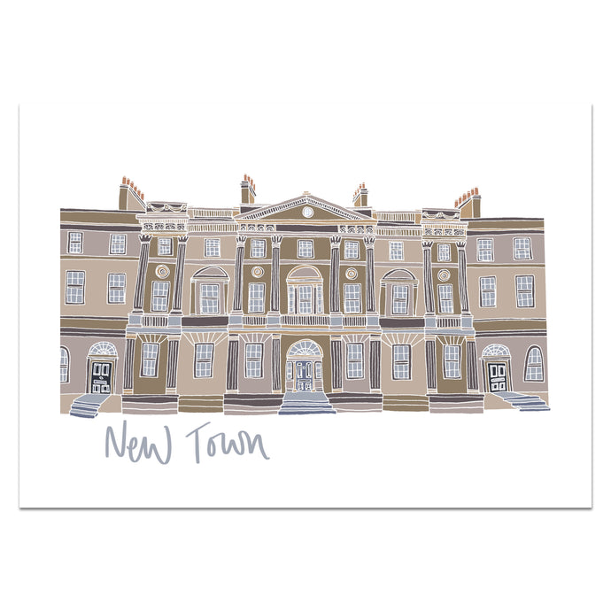 New Town Edinburgh Print - Victoria Rose Ball