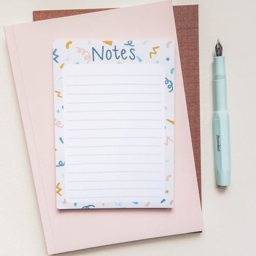 Scribbles Notepad - Victoria Rose Ball