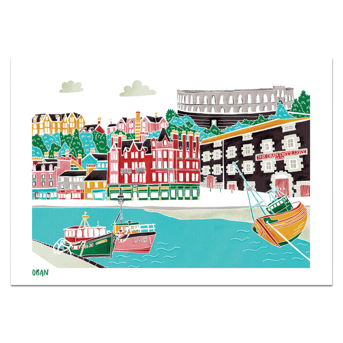 Oban Print - Victoria Rose Ball