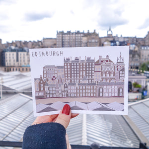 Edinburgh Postcard - Victoria Rose Ball